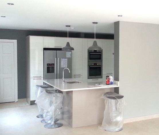 Kitchen fitted by Fantastic Services.