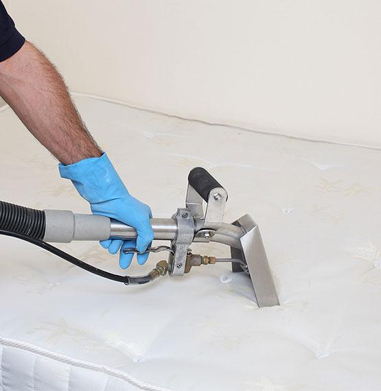 Mattress cleaning via Hot Water Extraction