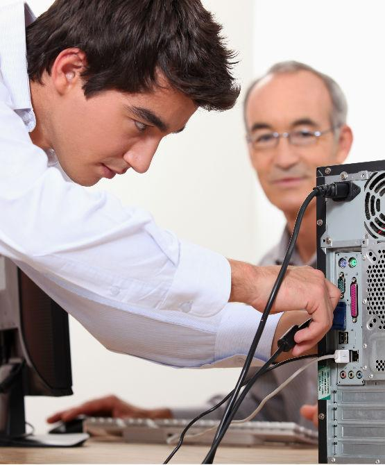 home pc repair service