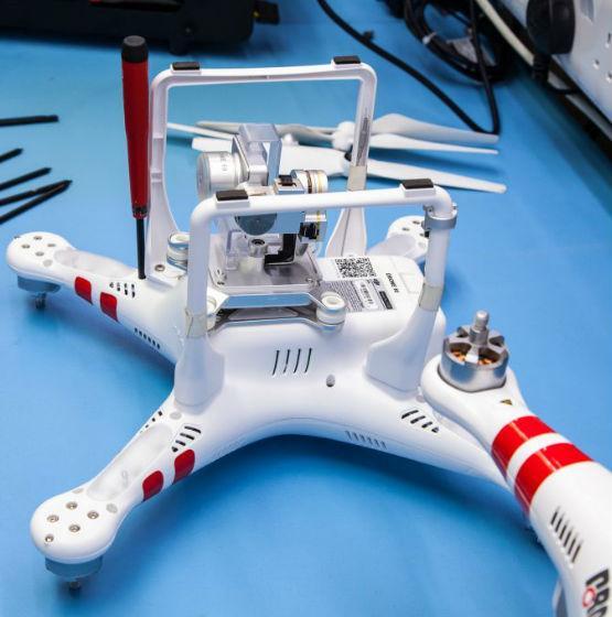 DJI drone repair in London